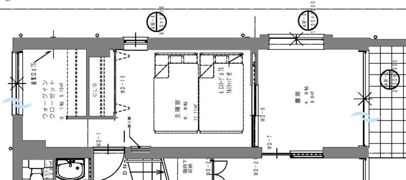 I1-1,2階平面詳細図(計画変更用)0001